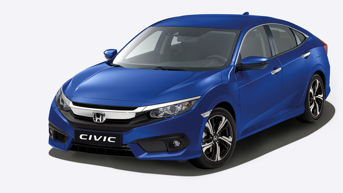 honda civic 4 portes performances voitures honda. Black Bedroom Furniture Sets. Home Design Ideas