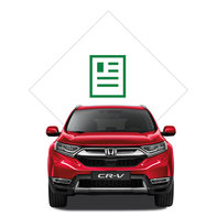 Illustration de la brochure du Honda CR-V.